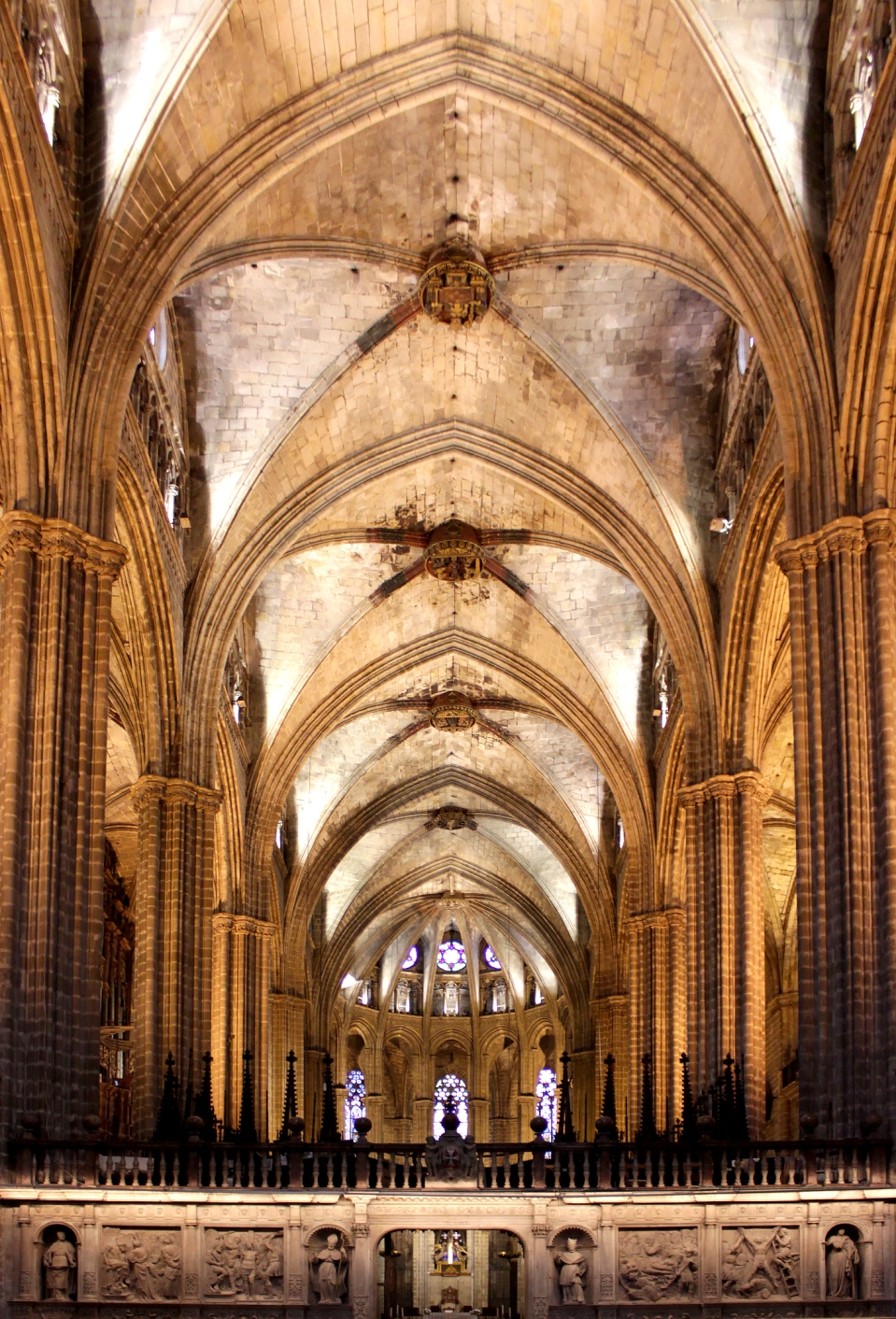 Barcelona Cathedral Interior